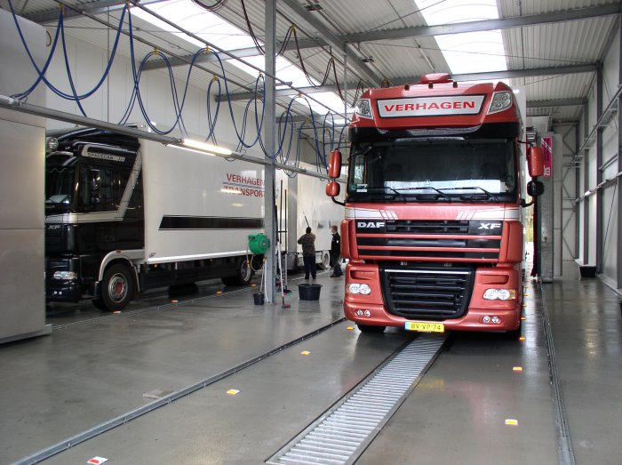 Verhagen transport Truckwash N201